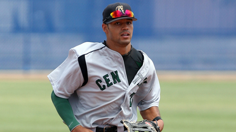 Keenyn Walker was drafted 47th overall in June out of Central Arizona College.