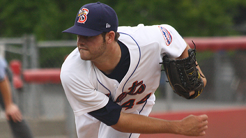 Cory Mazzoni is 4-3 with a 3.21 ERA in seven Double-A starts.
