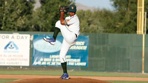 Felix Pena was 4-2 with a 3.58 ERA in 21 games, including six starts.